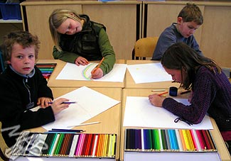 The Defense of Colored Pencils in Holland