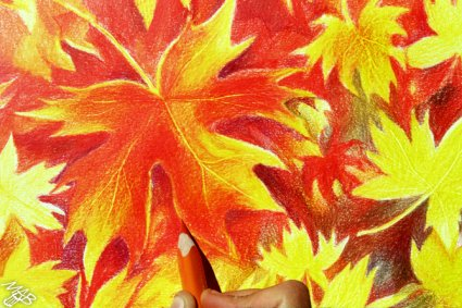 Process of creation: Maple – painter of the fall