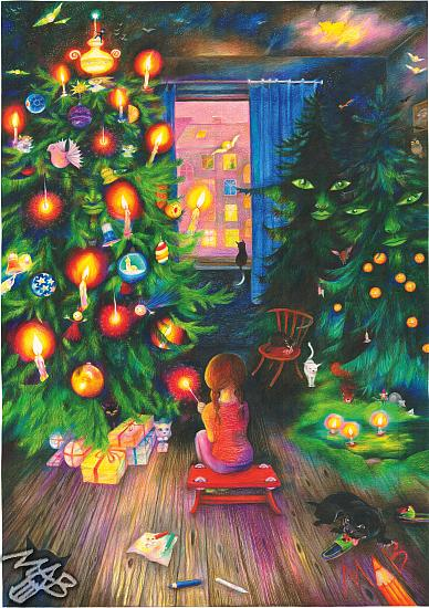 The Christmas Tree in the Children's Eyes