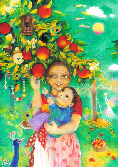 Mommy – the Apple Tree